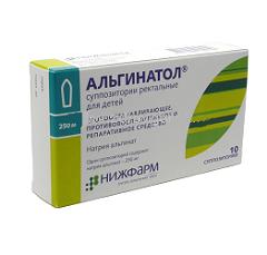Суппозитории для ректального применения Альгинатол