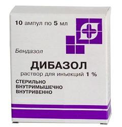 Раствор для внутривенного и внутримышечного введения Дибазол