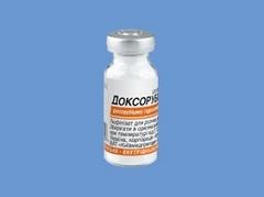 Лиофилизат для приготовления раствора для внутрисосудистого и внутрипузырного введения Доксорубицин