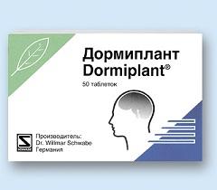 Таблетки, покрытые пленочной оболочкой, Дормиплант