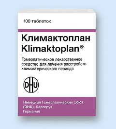 Таблетки Климактоплан