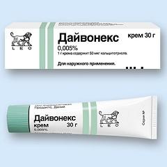 Крем для наружного применения Дайвонекс