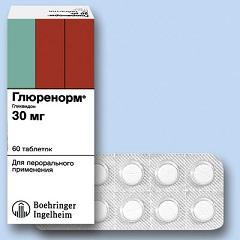 Таблетки Глюренорм