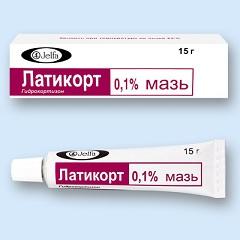 Мазь для наружного применения 0,1% Латикорт