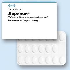 Таблетки, покрытые пленочной оболочкой, Леривон