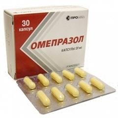 Капсулы Омепразол