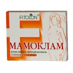 Таблетки, покрытые оболочкой, Мамоклам