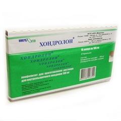 Лиофилизат для приготовления раствора для внутримышечного введения Хондролон