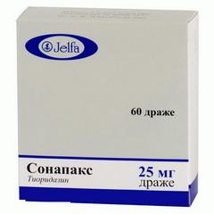 Таблетки, покрытые оболочкой (драже), Сонапак