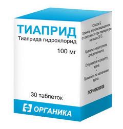 Таблетки Тиаприд