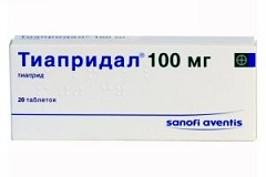 Таблетки Тиапридал