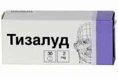 Таблетки Тизалуд