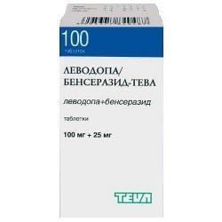 Таблетки Леводопа/Бенсеразид-Тева