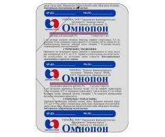 Раствор для подкожного введения Омнопон