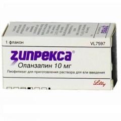 Лиофилизат для приготовления раствора для внутримышечного введения Зипрекса