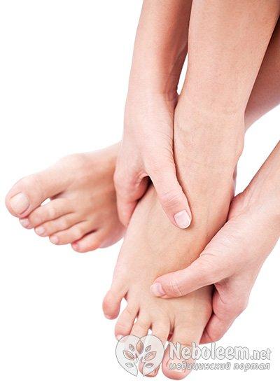 Опухают суставы на пальцах ног суставы и дэнас