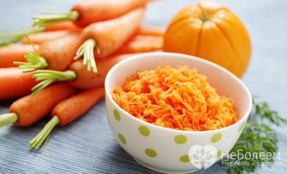 Чем полезна морковь диета