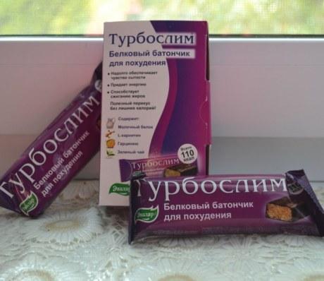 Батончик «Турбослим» белковый диетический