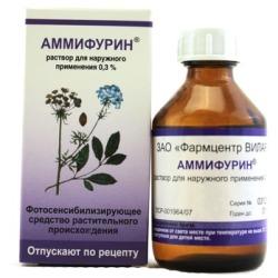 Аммифурин – инструкция по применению, показания, дозы