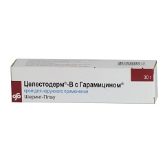 Крем для наружного применения Целестодерм-В с гарамицином