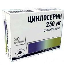 Капсулы Циклосерин