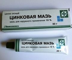 Мазь для наружного применения 10% Цинковая мазь