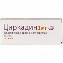 Таблетки пролонгированного действия Циркадин