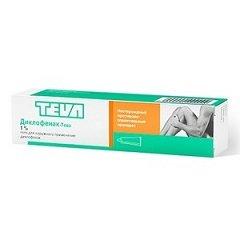 Гель для наружного применения 1% Диклофенак-Тева