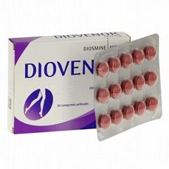 Таблетки, покрытые оболочкой, Диовенор 600