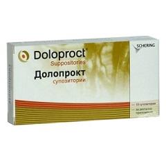 Суппозитории Долопрокт