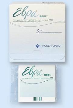Трансдермальный пластырь Евра