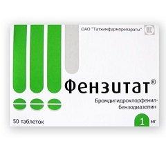 Таблетки Фензитат