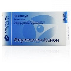 Капсулы Флуоксетин-Канон