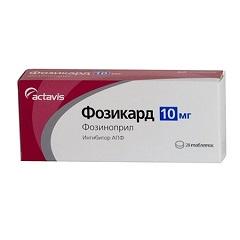 Таблетки Фозикард