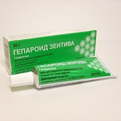 Мазь для наружного применения Гепароид Зентива