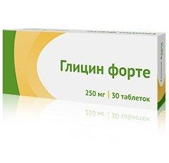 Таблетки защечные Глицин форте
