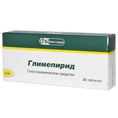 Таблетки Глимепирид