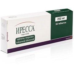 Таблетки, покрытые пленочной оболочкой, Иресса