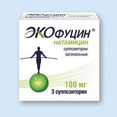 Суппозитории вагинальные Экофуцин