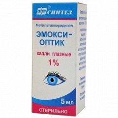 Капли глазные Эмокси-оптик