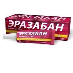 Крем для наружного применения 10% Эразабан