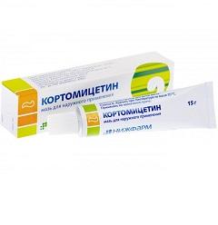 Мазь для наружного применения Кортомицетин