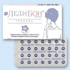 Таблетки Ледибон