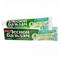 Лесной бальзам Зубная паста «Тройной эффект. Экстрасвежесть»