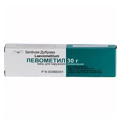 Мазь для наружного применения Левометил