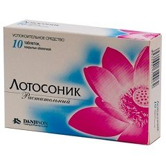 Таблетки, покрытые пленочной оболочкой, Лотосоник