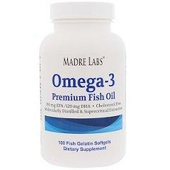 Капсулы Madre Labs Рыбий жир Омега-3