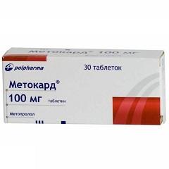 Таблетки Метокард