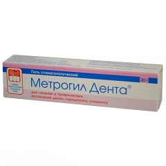 Гель стоматологический Метрогил Дента