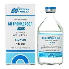 Раствор для инфузий Метронидазол-АКОС